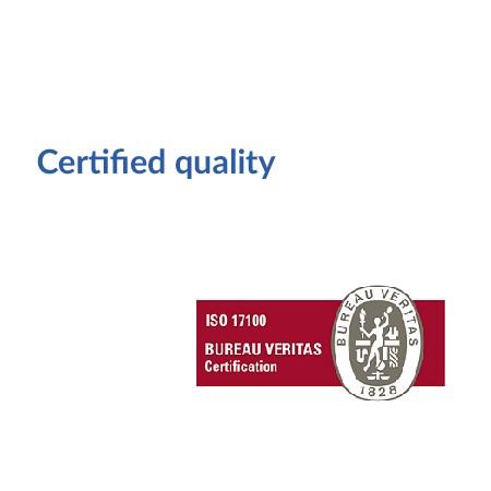 Certified quality en
